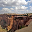 Canyon de Chelly in Chinle, Arizona, from the top of the rim