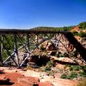 Midgely Bridge, at the beginning of Oak Creek Canyon
