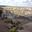 A wider view of the Painted Desert
