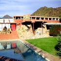 The front of Taliesin West