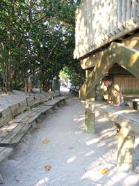 Suncoast Seabird Sanctuary walkway