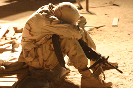 A Soldier Tired of Waiting