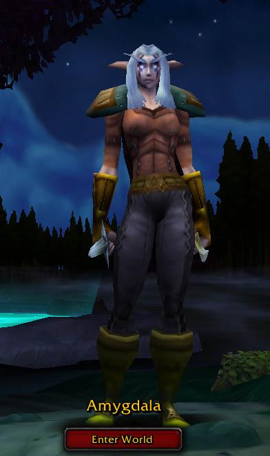 My World of Warcraft character, Amygdala