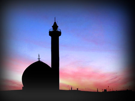 Iraqi sunset in LOMO